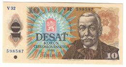 Czechoslovakia 10 Korun 1986 UNC .C. - Cecoslovacchia