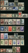 FRANCE - ANNEE COMPLETE 1956 - YT 1050 à 1090 ** - 41 TIMBRES NEUFS ** - France