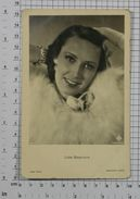 LIDA BAAROVA - Vintage PHOTO POSTCARD (382-A) - Acteurs