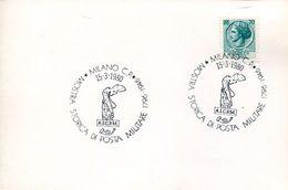 24935 Italia,special Postmark 1980 Milano , Archeology,sculpture  Nike Victory Of Samothrace,greek Sculpture - Archeologie