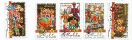 2001 Malta Carnival Parade Costumes Culture Complete Set Of 5  MNH - Malta