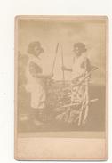 Photo Format Cabinet - Guerriers Soudanais - Photographs
