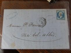Lot Du 05.09.17-LAC De   Marseille  Bateau-a-vapeur Pour Sidi-Bel-Abbès Sur N°22 GC 5051 - 1862 Napoleon III