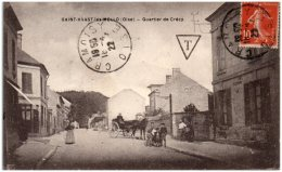 60 SAIN-VAAST-les-MELLO - Quartier De Crécy    (Recto/Verso) - Francia