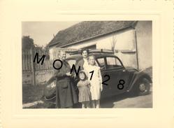 PEUGEOT 202 - PHOTO 1955 -  DIM 10,5X8cms - Automobili