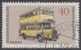 !b! BERLIN 1973 Mi. 450 USED SINGLE (g) - Berlin Public Transfer - Busses: Double-decker Bus (1925) - [5] Berlin