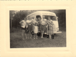 FOURGON RENAULT GOELETTE -  PHOTO 1951 - DIM 11X8cms - Automobili