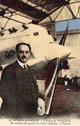 Istres Aviation  -  Lieutenant Bonnet  -  Recordman Du Monde De Vitesse -  CPA - Aviateurs