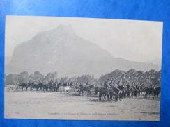 ISERE   38          GRENOBLE      -     POLYGONE D´ARTILLERIE   -  CAVALERIE MILITAIRE       TRES  ANIME     TTB - Grenoble