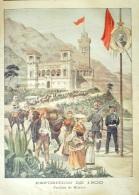 """EXPOSITION 1900-PAVILLON """"""""MONACO"""""""" - Incisioni"""