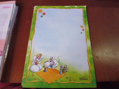 FEUILLES CARNET DIDDL DEBUT DES ANNEES 2000 ISSU COLLECTION IMPECCABLE - Diddl