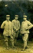 3 Militaires Du 44ème - Guerre, Militaire