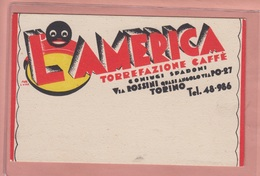 OLD POSTCARD ADVERTISING COFFEE - CAFFE AMERICANO - Publicité