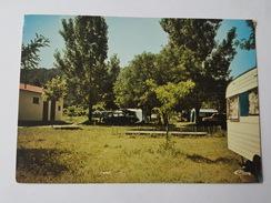 Bessèges - Le Camping - Caravane - Citroen DS - Bessèges