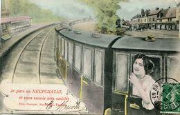 TRAIN(NEUFCHATEL) - Treinen