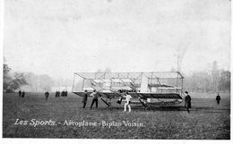 Aéroplane Biplan Voisin  -  CPA - ....-1914: Vorläufer