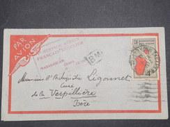 FRANCE / MADAGASCAR - Enveloppe Par Avion De Tananarive Pour La France En 1935 , 1 Er Service Régulier - L 9785 - Madagascar (1889-1960)
