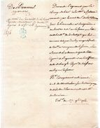 De PREMESNIL  Jacques Bonaventure Alexandre.Officier Dans La Capitainerie Garde Côte De Muneville-régnéville.1761.copie. - Documents Historiques