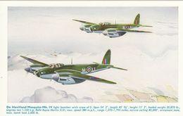 Aviation Art Postcard WW2 German Messerschmitt Me109 III Aircraft John Batchelor - 1939-1945: 2nd War