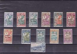 ININI:  : Y&T : Lot De 14 Timbres * - Inini (1932-1947)