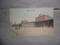 Spa : La Gare - Station - Couleurs - Spa