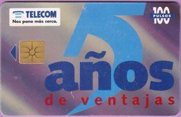 Télécarte Argentine °° Años De Ventajas-11 1995 - Argentine
