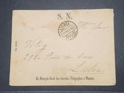 PORTUGAL - Enveloppe Télégraphique De Lisbonne En 1882  - L 9787 - Cartas