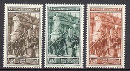 1950 - VATICAN - Palatine Guard - Scott #140-142 - MNH VF** - Vatican