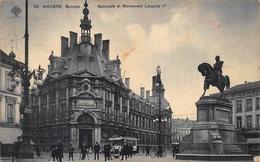 Antwerpen  Anvers   La Banque Nationale  Nationale Bank En Monument Leopold I          I  263 - Antwerpen