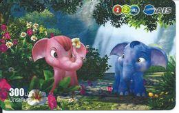 éléphant Elephant  Jungle Animal Télécarte Phonecard Karte (S.548) - Thaïlande