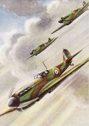 Aviation Art Postcard RAF Supermarine Spitfire Mk.I Aircraft - Roland Davies - 1939-1945: 2nd War