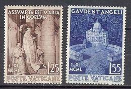 1951 - VATICAN - Assumption Of The Virgin Mary - Scott #143-144 - MNH VF** - Vatican