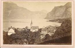 SUISSE - FLUFLEN Et Le Lac D'Uri D'Uri - PHOTO 11 X 16,5 - Alte (vor 1900)