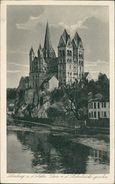 AK Limburg, Dom Von Der Lahnbrücke Gesehen, O 1932 Bahnpost Bingerbrück Hermeskeil (15618) - Limburg