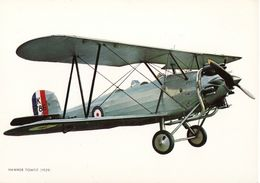 Aviation Art Card Print RAF Hawker Tomtit Trainer Aircraft 1929 - Aviation