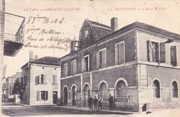CPA (82) SEPTFONDS L' Hôtel De Ville - France