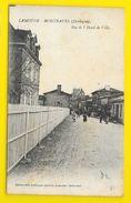 LAMOTHE MONTRAVEL Rare Rue De L'Hôtel De Ville (Mlle Laffargue) Dordogne (24) - France