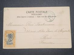 CONGO BELGE - Oblitération De Léopoldville Sur Carte Postale Pour La France En 1917 - L 9790 - Belgian Congo
