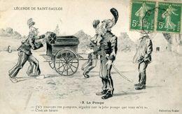POMPIER(SAINT SAULGE) - Sapeurs-Pompiers
