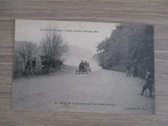 CPA CIRCUIT D'AUVERGNE COUPE GORDON BENNETT 1905 ROUTE DE LA BARAQUE SOUS LA ROCHE PERCEE - Sport Automobile