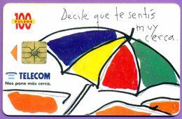 Télécarte Argentine °° Decile Que Te Sentis Muy Cerca - Argentine