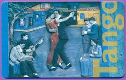 Télécarte Argentine °° Clavel Del Aire (Luis Perlotti) - Tango - Argentine
