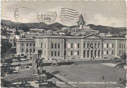 Z4403 Messina - Municipio Palazzo Comunale - Monumento Caduti / Viaggiata 1955 - Messina