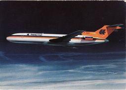 Aviation Postcard Hapag Lloyd Boeing 727 Aircraft Hapag-Lloyd Flug 727-200 - 1946-....: Modern Era
