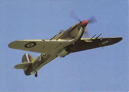 Aviation Postcard RAF Hawker Hurricane Mk.IIc Aircraft PZ865 Last Built WW2 - 1939-1945: 2nd War