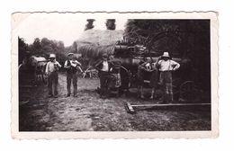 Agriculture Moisson Photo 11.2x6.9cm Machine Agricole Paysan Recolte - Cultivation