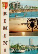 140417 CARTOLINA DI RIMINI CON STEMMA DELLA CITTA' - Rimini