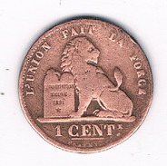 1 CENTIEM 1873  BELGIE /324E/ - 1865-1909: Leopold II