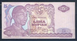 493-Indonésie Billet De 5 Rupiah 1968 SDA047 - Indonésie