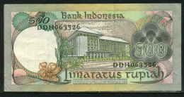 459-Indonésie Billet De 500 Rupiah 1977 DDH063 - Indonésie